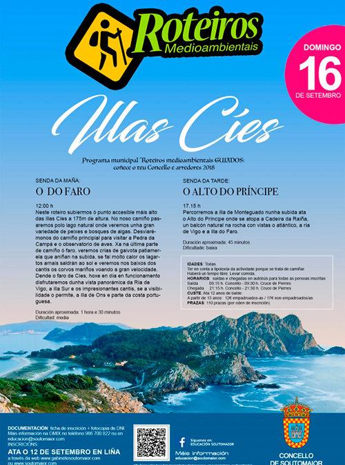 Roteiro Medioambiental: Illas Cíes