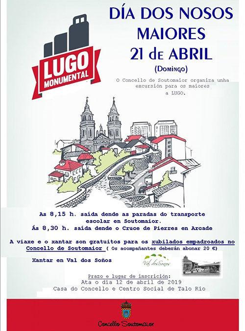 Día dos nosos maiores –  21 de abril – Lugo monumental