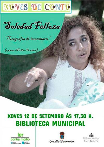"""Soledad Felloza """"Xeografía do imaxinario"""""""