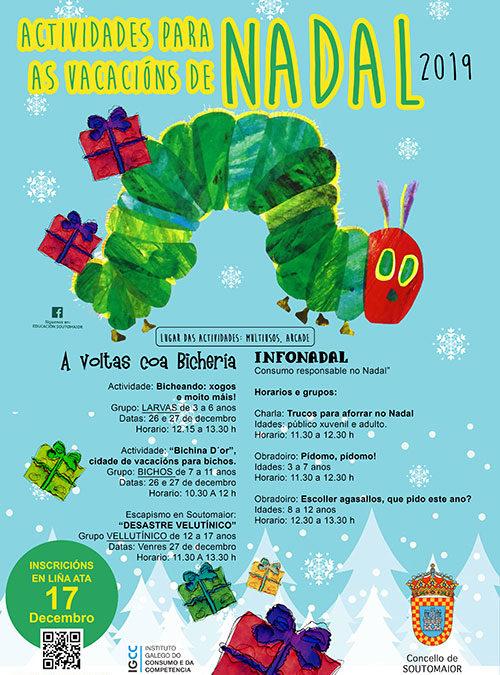Actividades para las vacaciones de Navidad!