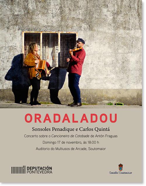 Oradaladou – Concerto sobre o Cancioneiro de Cotobade de Antón Fraguas