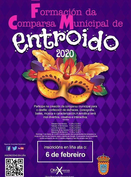 Participa na comparsa municipal de Entroido!