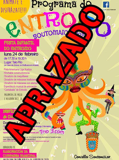 """Carnaval Soutomaior 2020 – Anímate y disfrázate!!! Inscripción de comparsas """"Desfile Municipal de Comparsas de Carnaval 2020"""""""