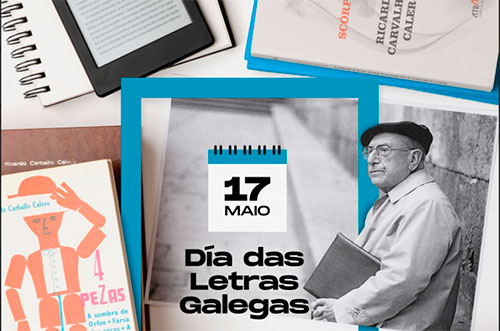 Día de las letras Gallegas – D. Ricardo Carvalho Calero