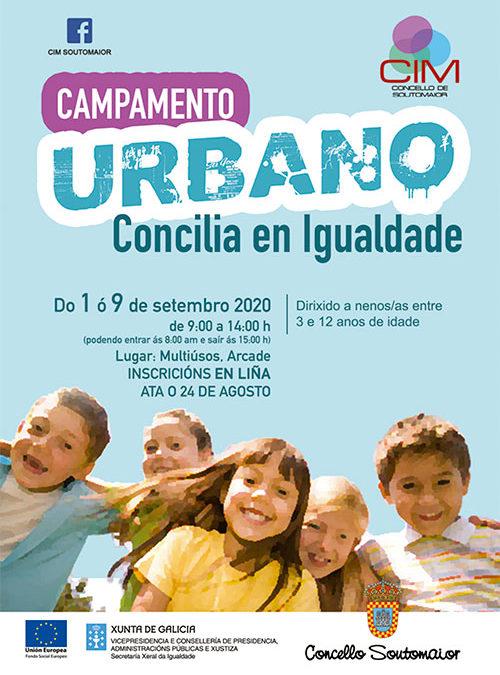 Campamento urbano – Concilia en igualdad