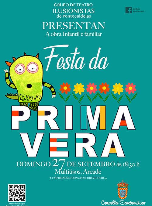 """Grupo de Teatro Ilusionistas de Ponte Caldelas presentan la obra infantil """"Festa da Primavera"""""""