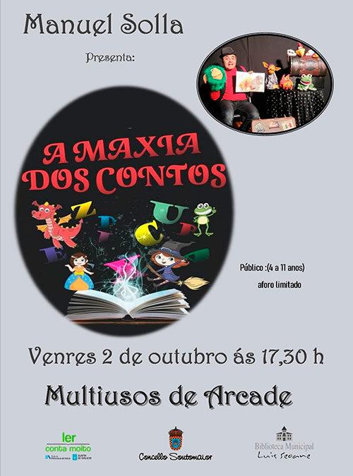 "Manuel Solla presenta: ""A Maxia dos Contos"""