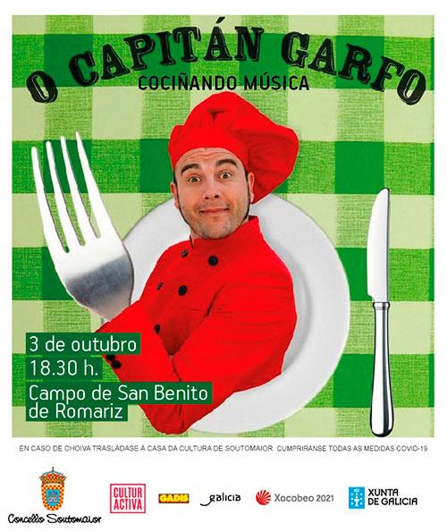 O Capitán Garfo – Cociñando Música