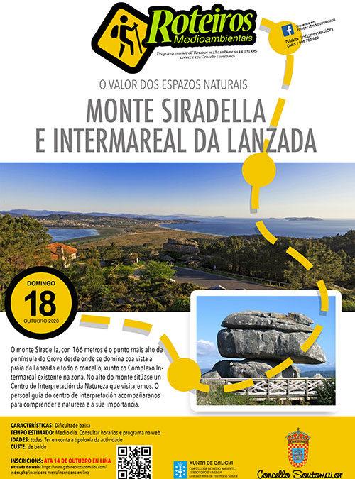 ROTEIRO Monte Siradella e Intermareal da Lanzada