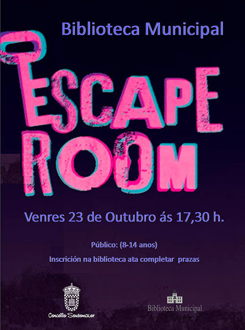 Bilbioteca Municipal – Escape Room