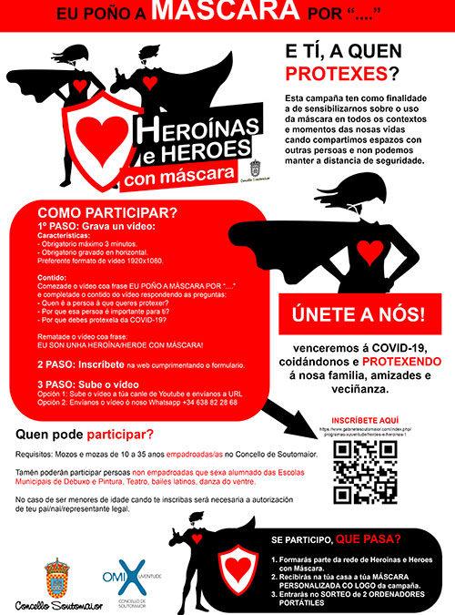 CAMPAÑA: HEROÍNAS E HEROES CON MÁSCARA