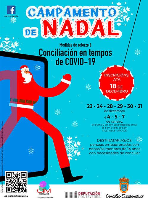 Campamento de Nadal – Conciliación en tempos de COVID-19