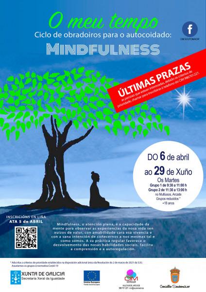 O meu tempo: Mindfulness (1 1/2 h/día)