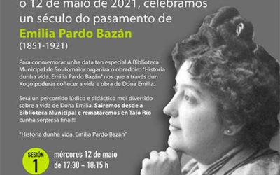 Un século, Emilia Pardo Bazán. Conmemoración 12 de maio de 2021