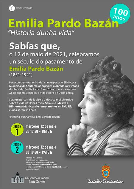 Un siglo, Emilia Pardo Bazán. Conmemoración 12 de mayo de 2021