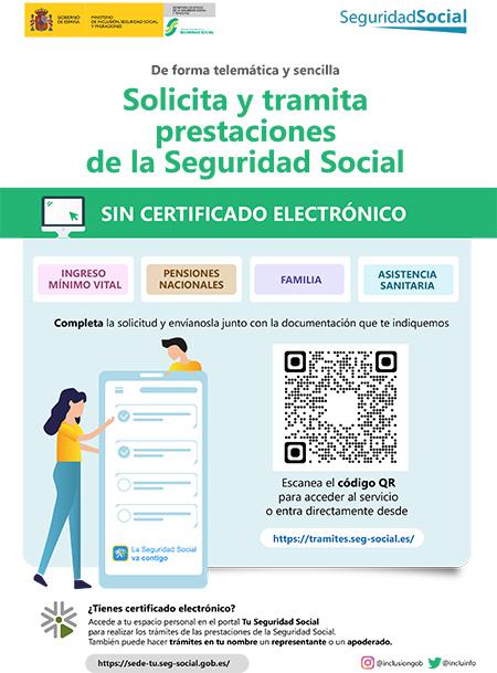 Nova plataforma para a solicitude e trámitación das prestacións da Seguridade Social